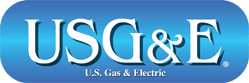 USG&E Gas and Electric Logo